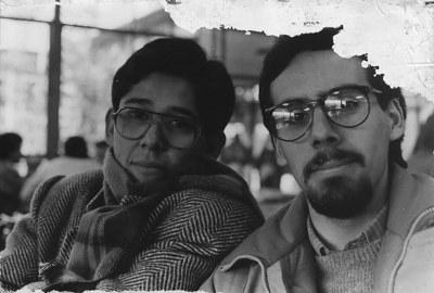 Marcelo y Luis, Antumapu circa 1989.