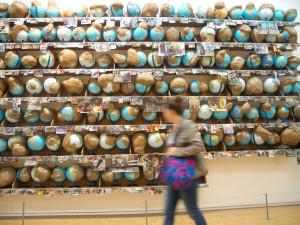 Mundos problema en el Centre Georges Pompidou.